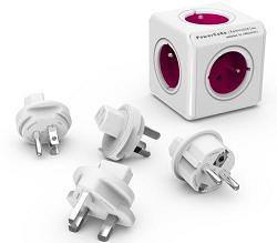 Rozbočovač POWERCUBE REWIRABLE + TRAVEL PLUGS