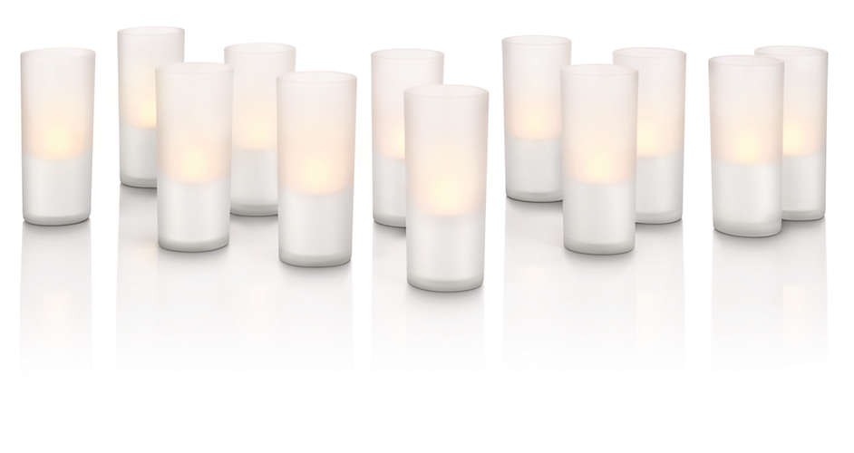 Philips 69133/60/PH Candlelights 12L Set