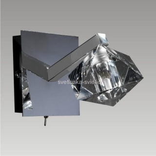 LUXERA 1551 BAIKO 1xG9/40W, CHROME, WALL