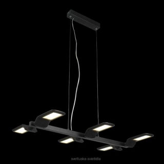 LUXERA 18076 SECTOR LED/36W, BLACK