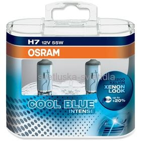 OSRAM H7 COOL BLUE INTENSE Duo-Box