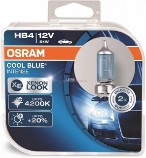 Osram Cool Blue Intense 9006CBI HB4 2ks/bal.